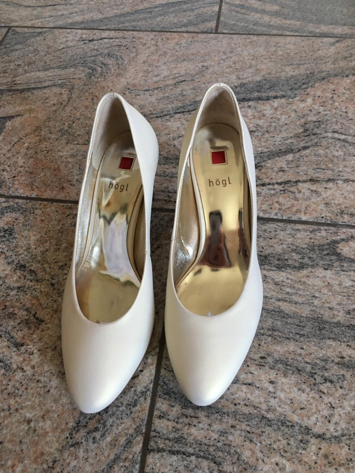 buy popular 5f847 a16f6 Högl Brautschuh ivory 4 1/2 in 5211 Lengau for €50.00 for ...