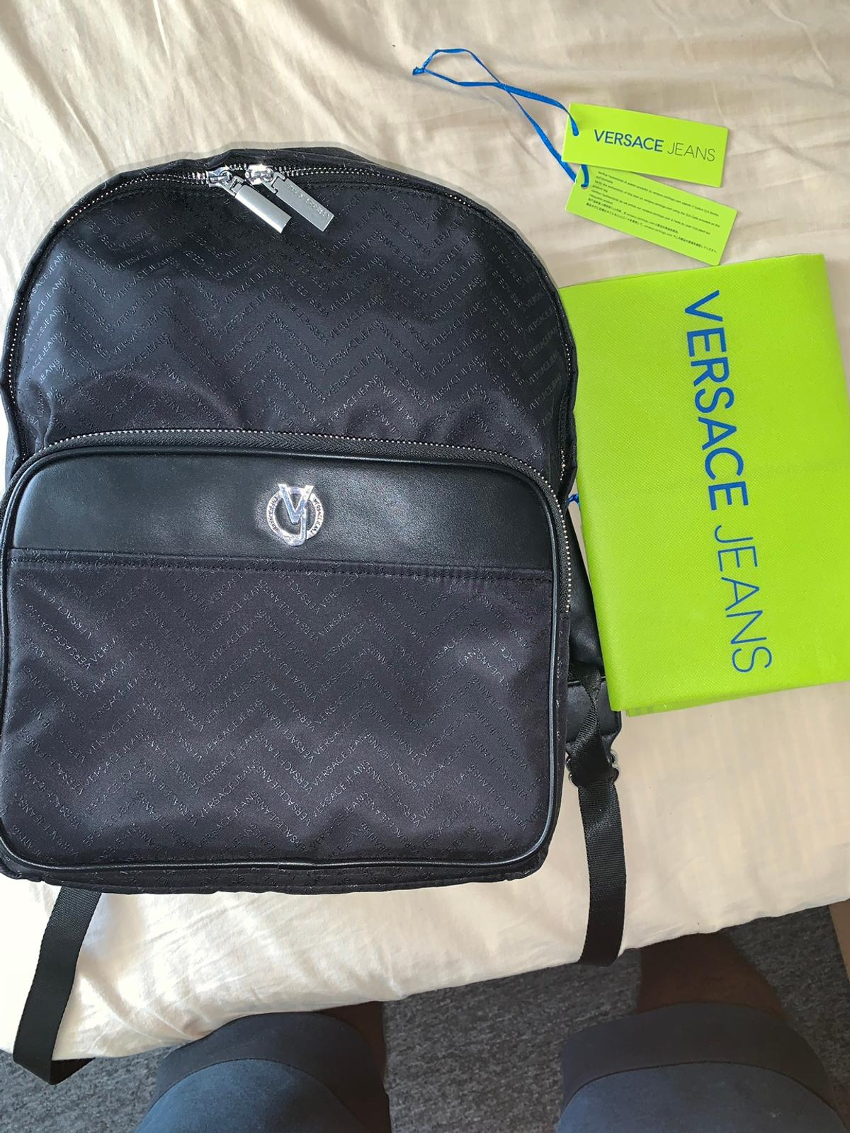 26204d4882 Versace jeans Linea Chevron Backpack in NN2 Northampton for £90.00 ...