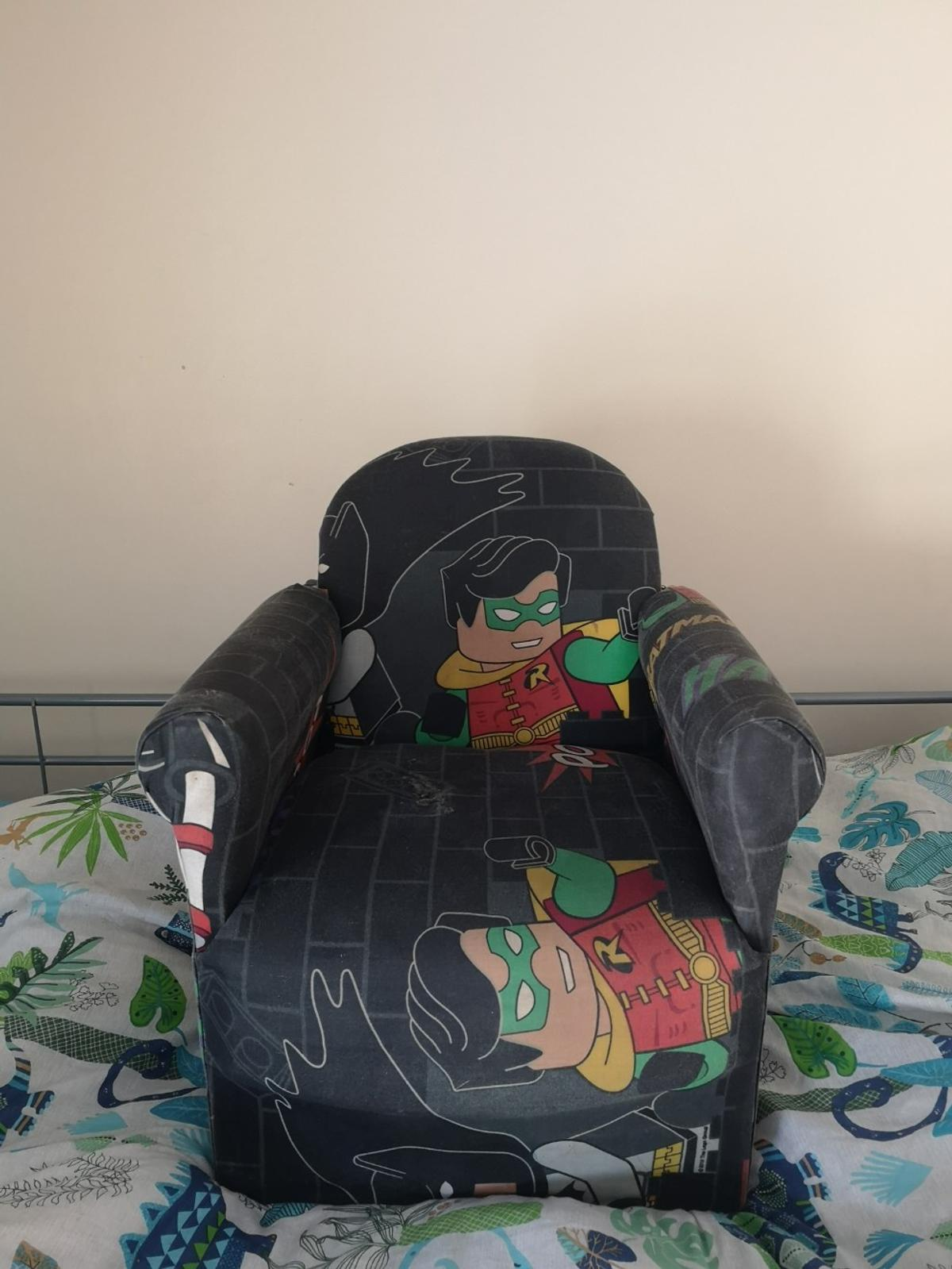 Marvelous Lego Batman Kids Armchair Machost Co Dining Chair Design Ideas Machostcouk
