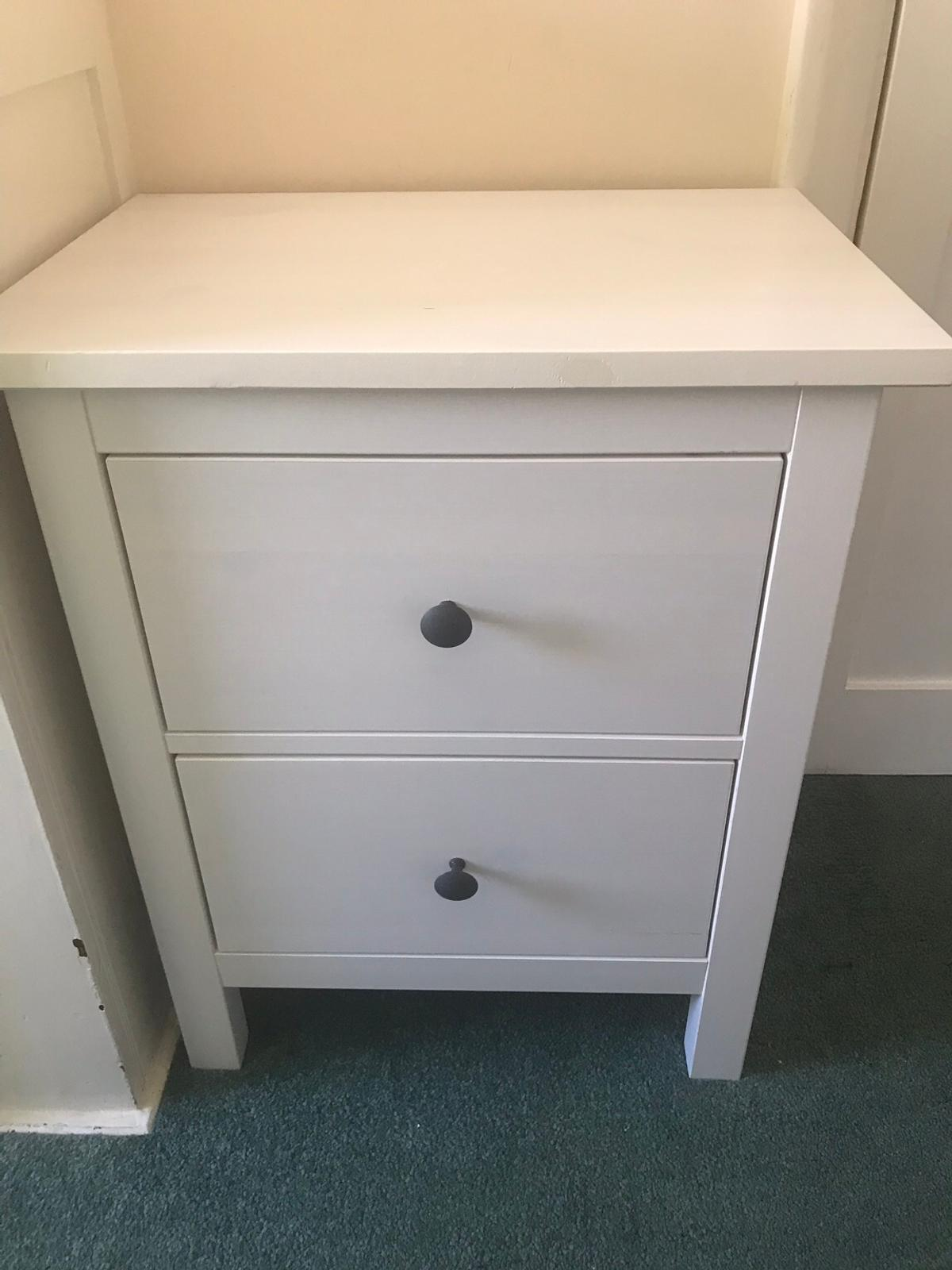 Ikea Hemnes Bedside Table In Tw20