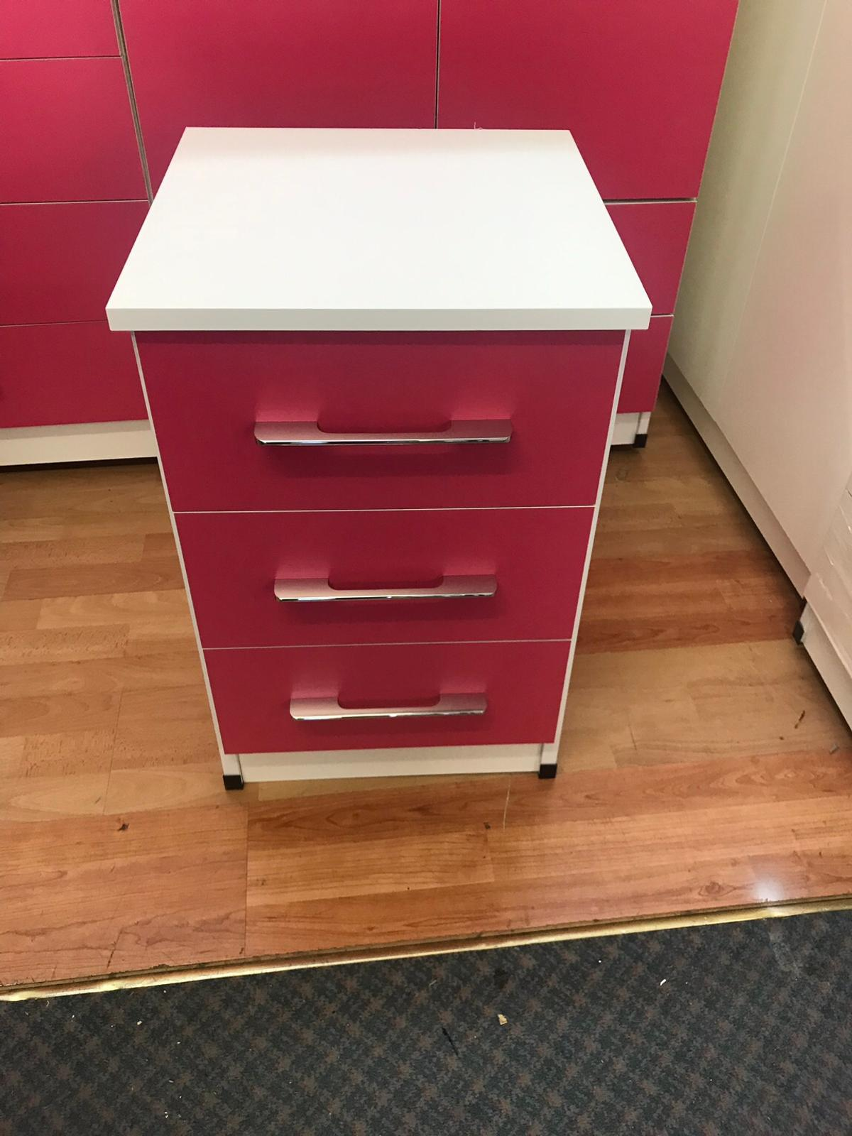 Classic bedroom furniture set-pink and white in CV6 Coventry ...