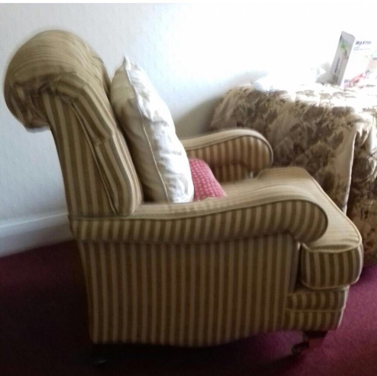 Strange Laura Ashley Style Sofa And Chairs In La5 Lancaster For Onthecornerstone Fun Painted Chair Ideas Images Onthecornerstoneorg