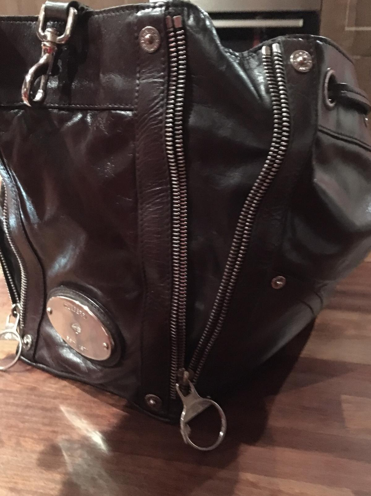 Mulberry Poppy Leather Bag Vgc