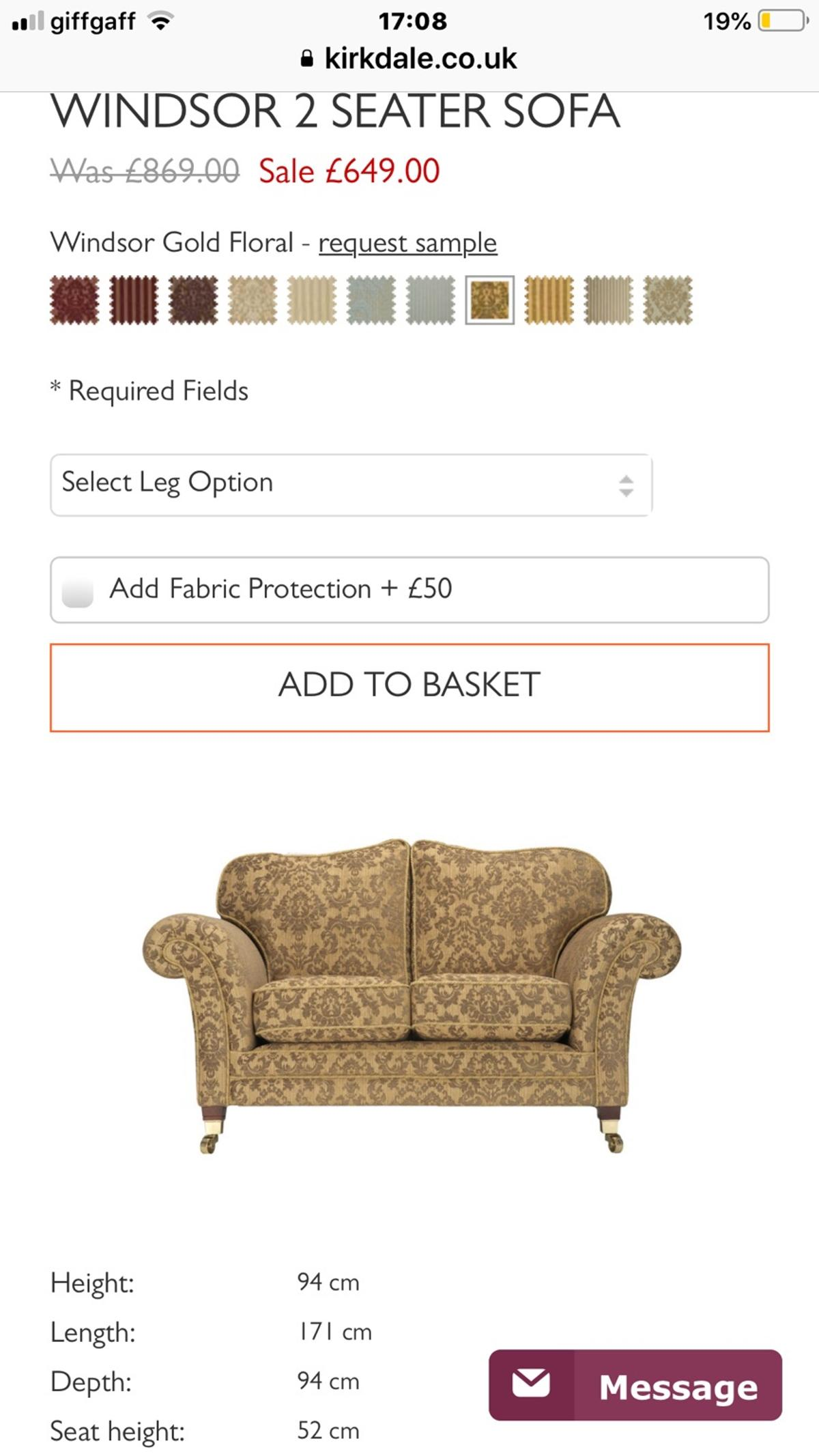 Super Laura Ashley Style Sofa And Chairs In La5 Lancaster For Onthecornerstone Fun Painted Chair Ideas Images Onthecornerstoneorg