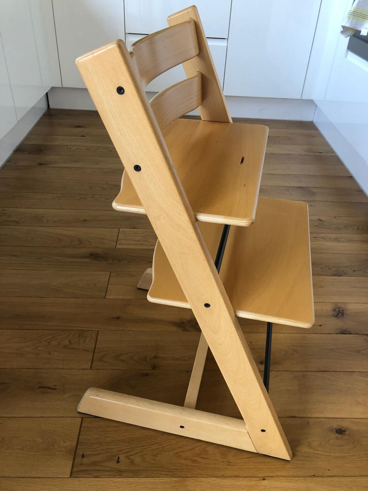 Admirable Stokke Tripp Trapp High Chair In Sm4 London For 120 00 For Caraccident5 Cool Chair Designs And Ideas Caraccident5Info