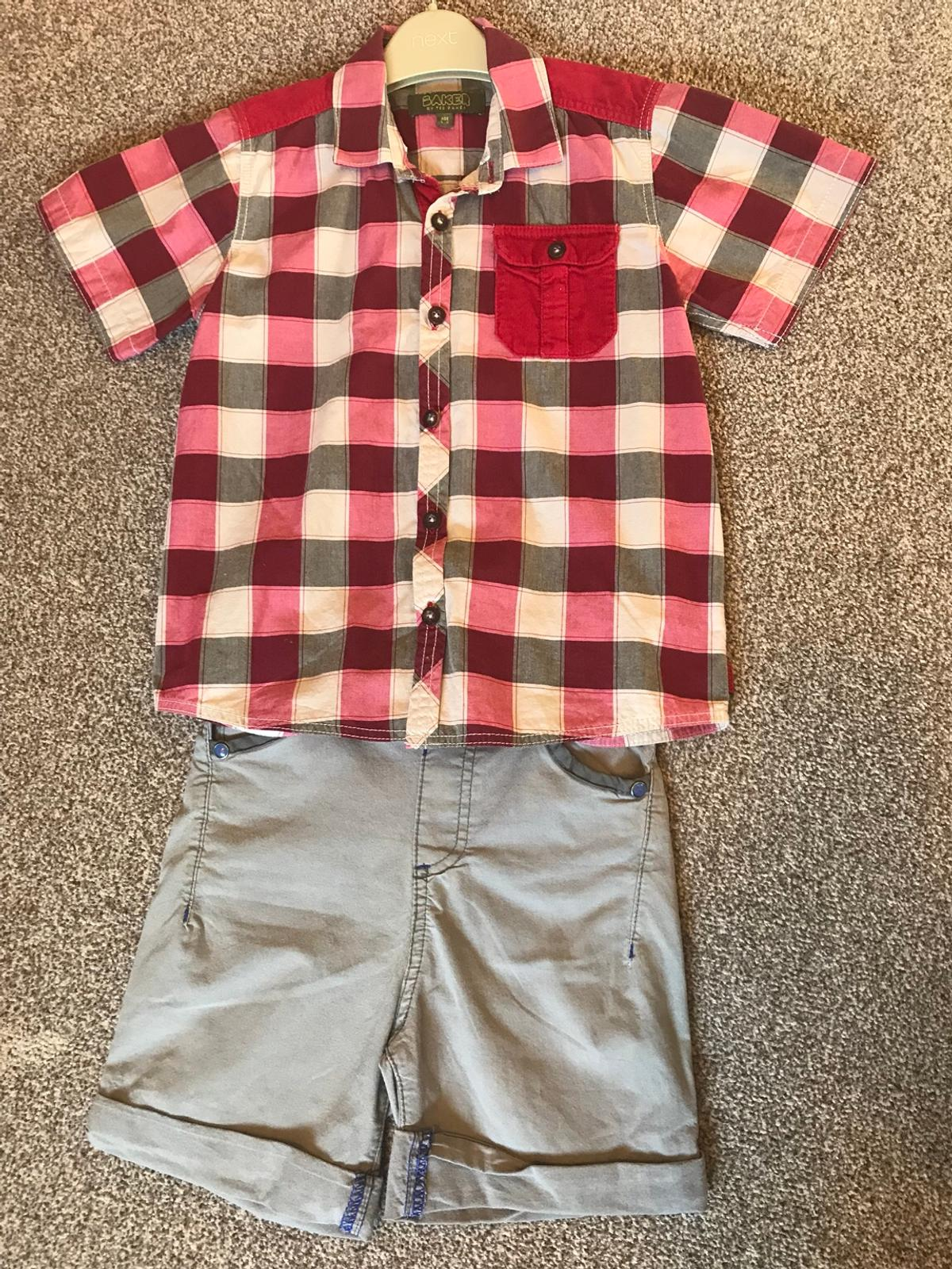 069a6e488dd4 Ted Baker shirt and shorts Age 5-6 years in S13 Sheffield for £8.00 ...