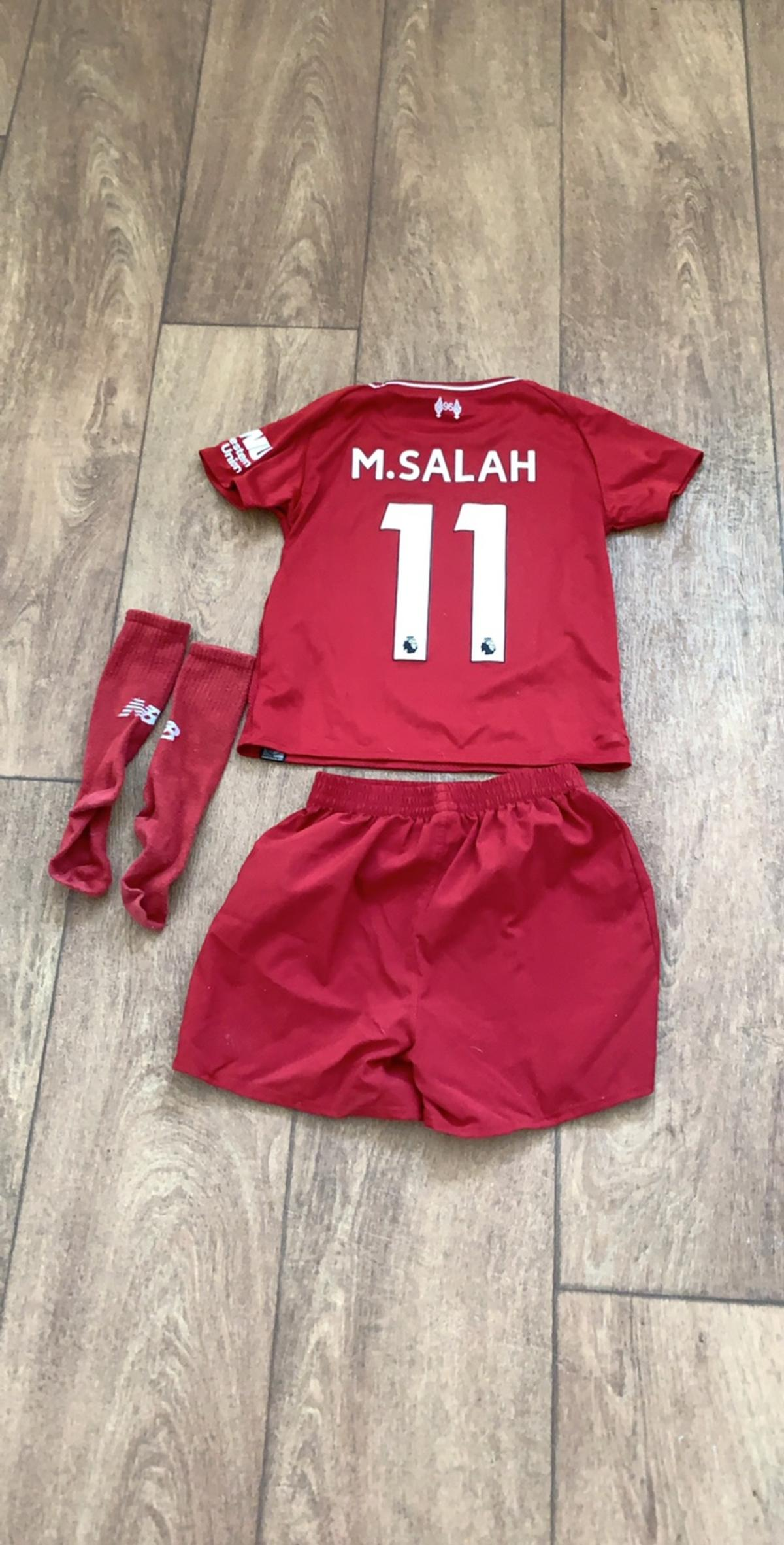 brand new 6bb53 dc5f3 Liverpool kids home kit Age 2-3 Mo Salah