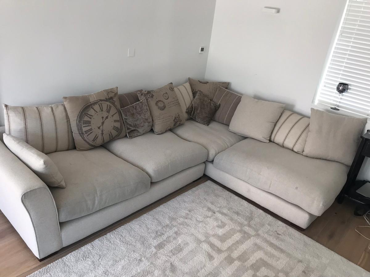 Dfs L Shape Corner Sofa 300 Ono In