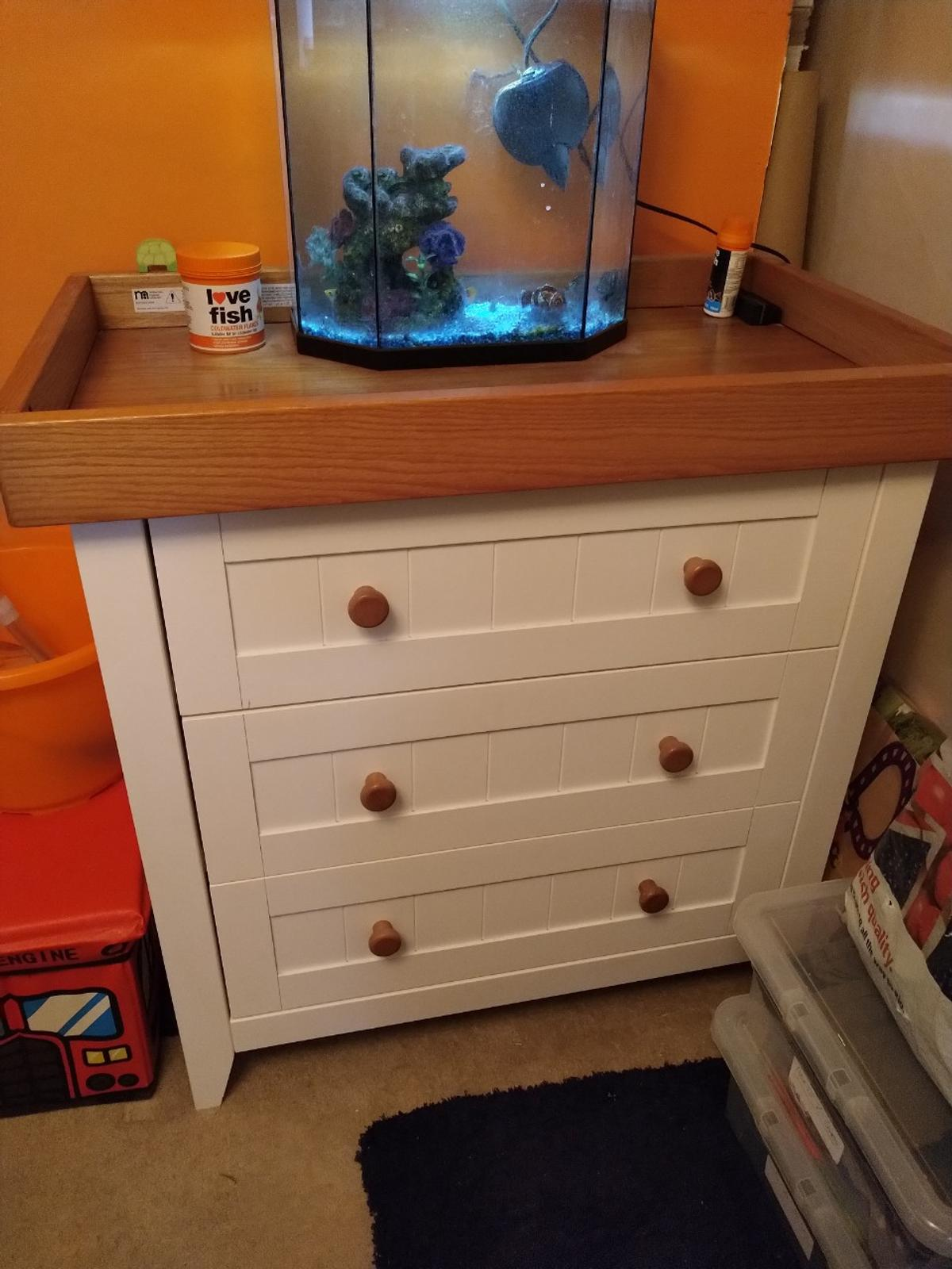 Child's Cot Bed and Matching Draws in PR1 Ribble for £90 00 for sale