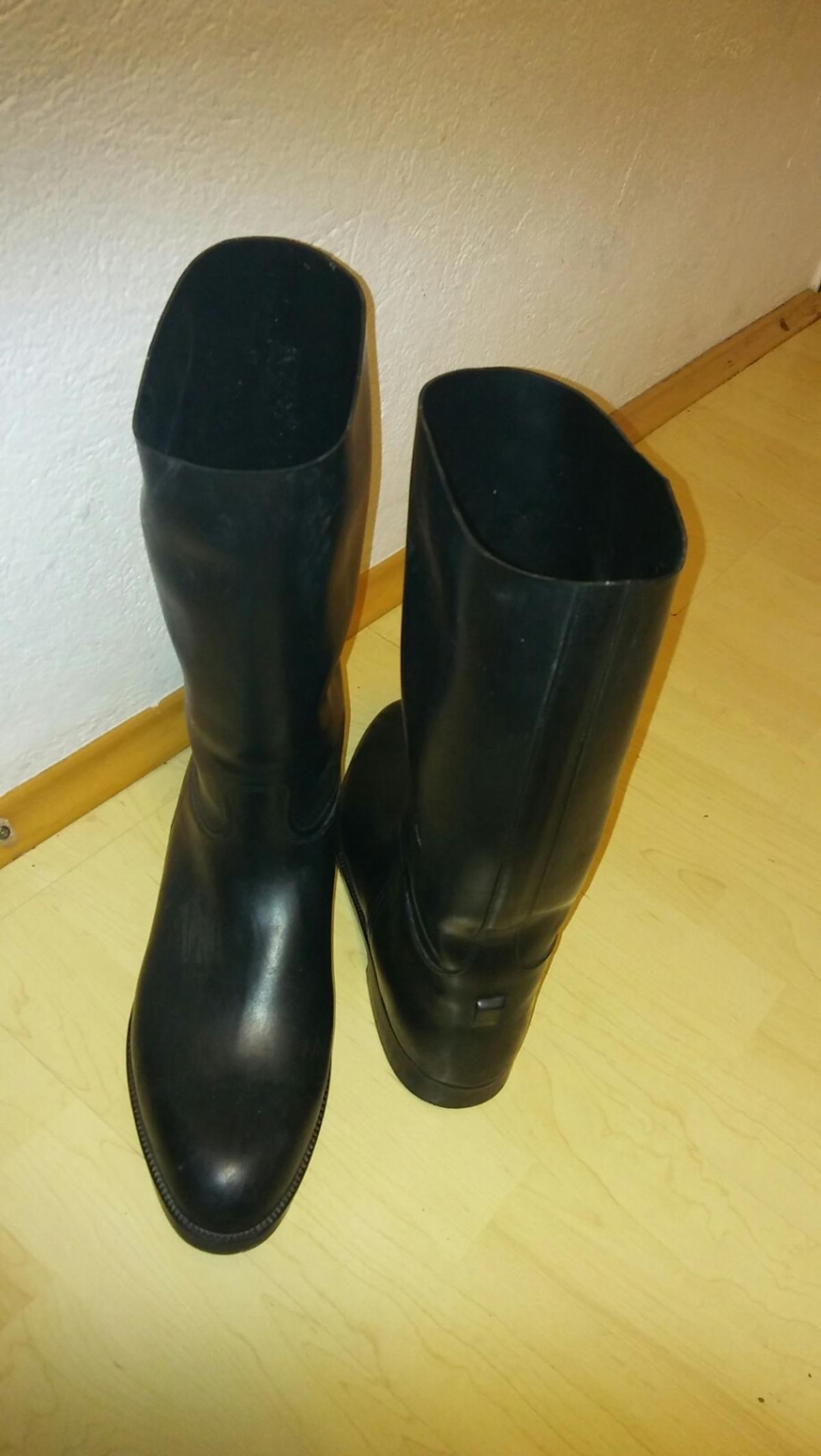 competitive price 71f37 6b3ac Schwarze Gummistiefel Gr. 43 Made in France in 6020 ...