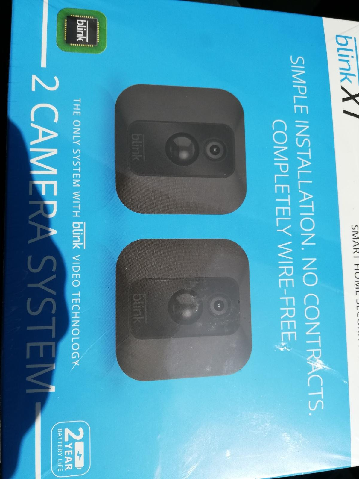 BLINK XT SMART HOME SECURITY CAMERA SYSTEM