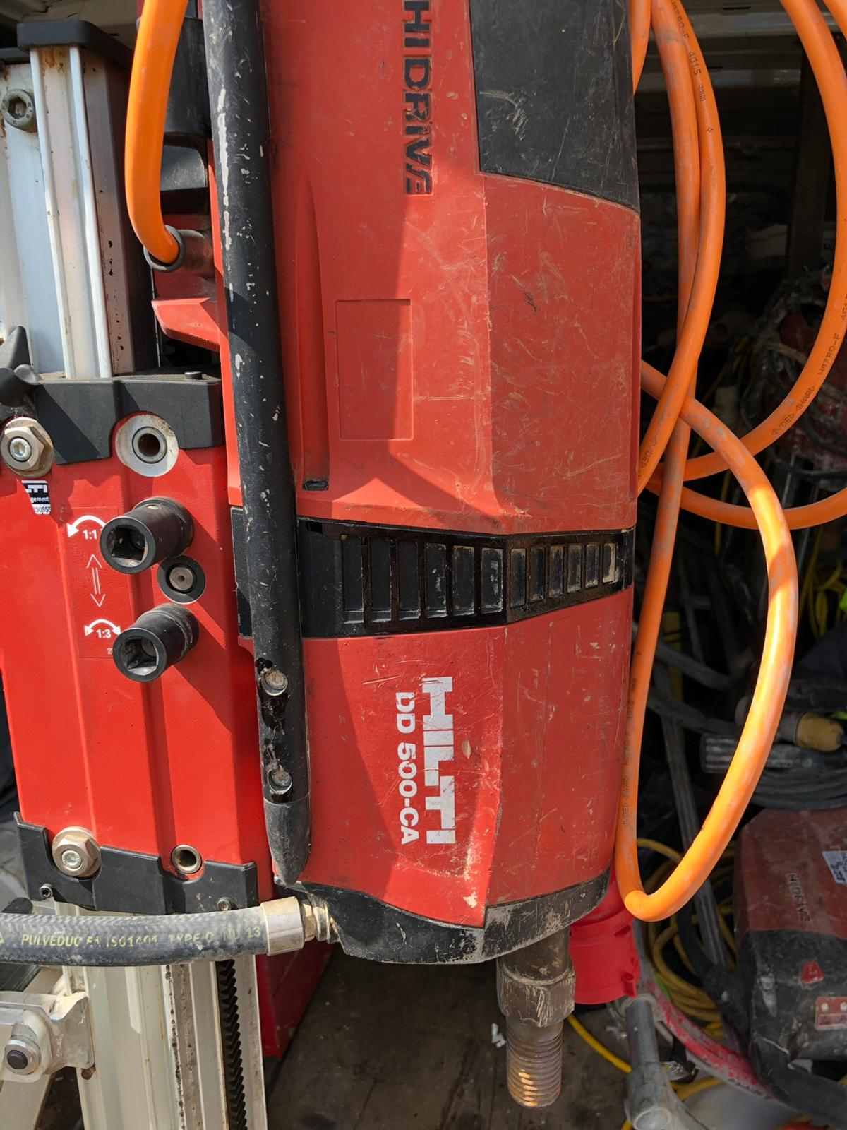 Hilti dd 500 3 phase 415 volts diamond drill in KT8