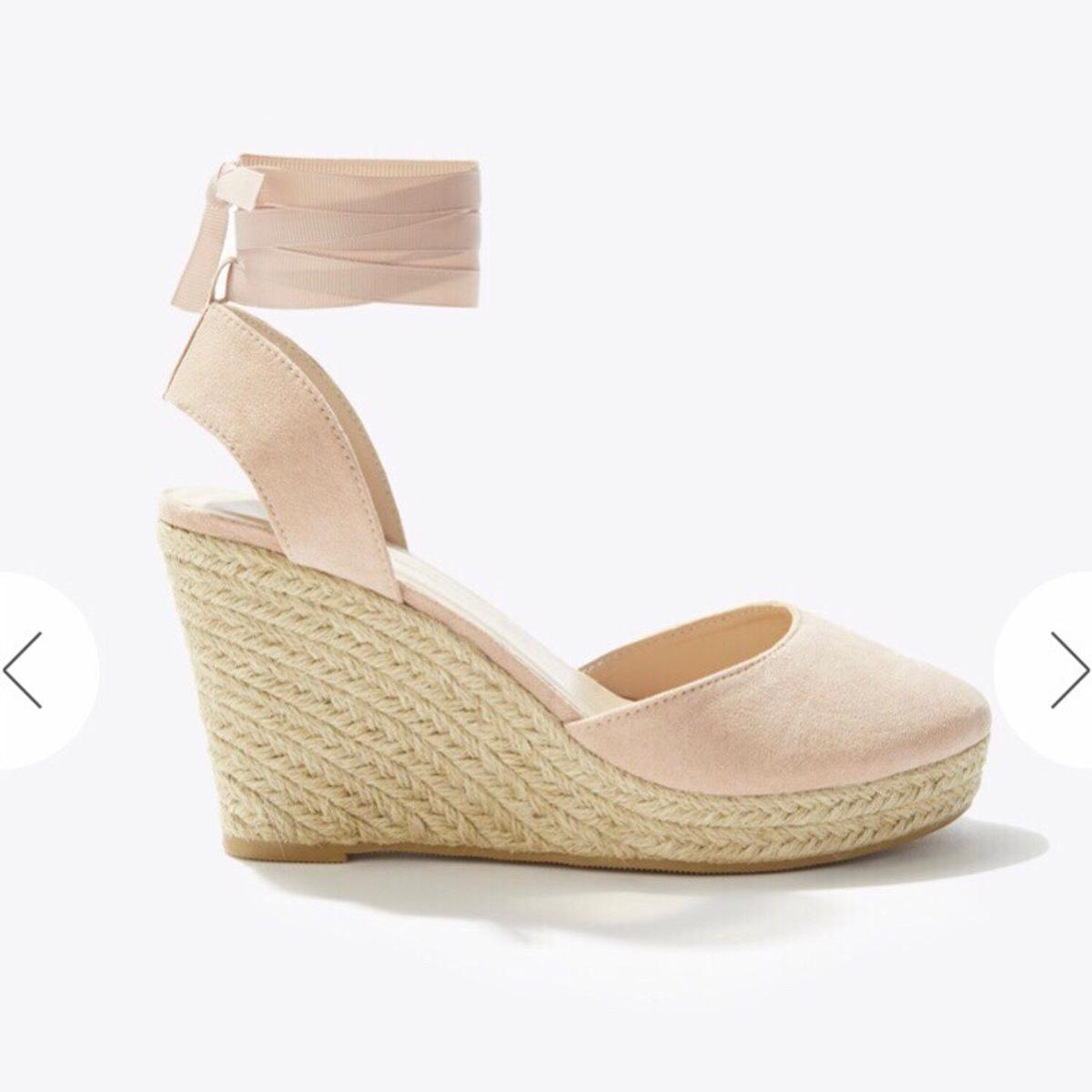 24668be3766 Miss Selfridge Pink Espadrille Wedge Shoes 6 in SW11 London for ...
