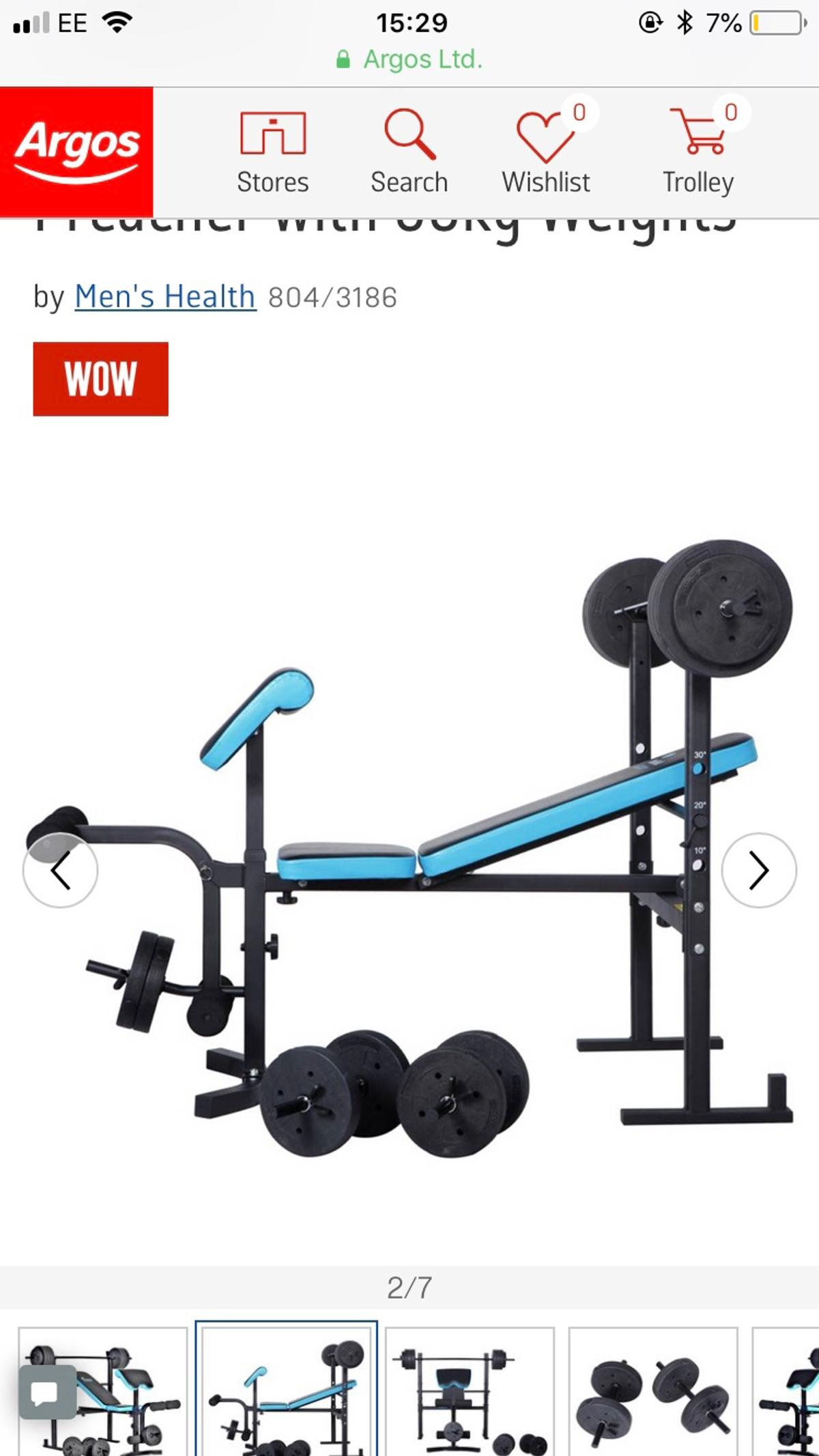 Training Bench Set From Argos In Luton For 70 00 For Sale Shpock