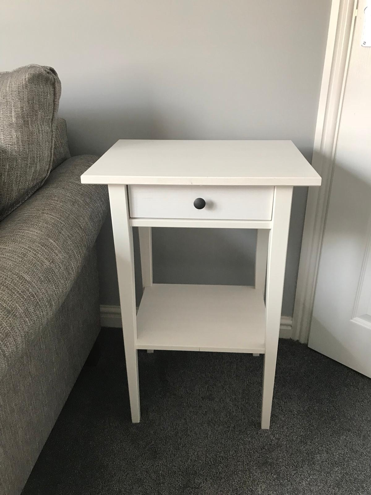 Ikea Hemnes White Bedside Table In Wolverhampton For 25 00 For Sale Shpock
