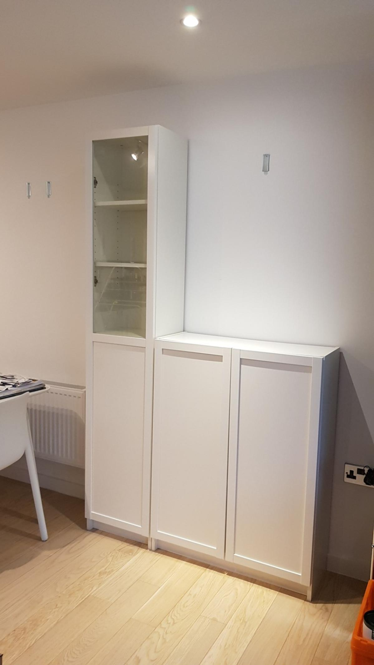 Ikea Billy Bookcase Combination With Doors