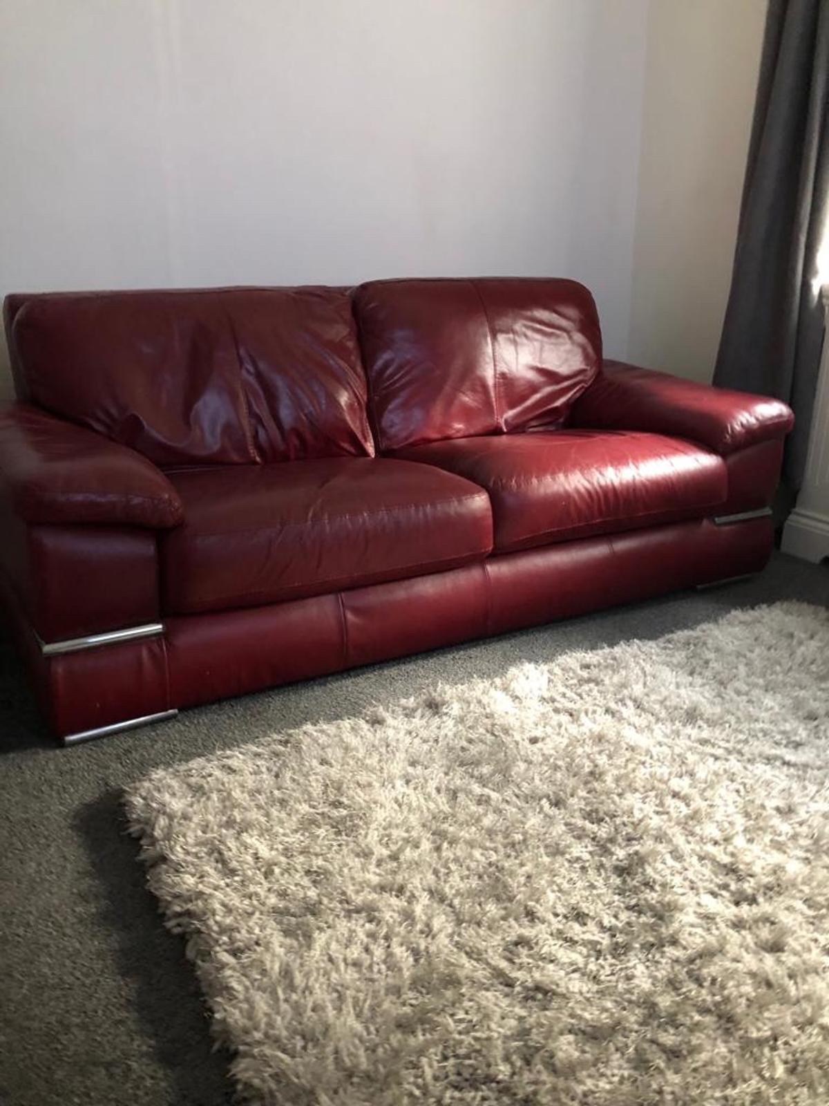 Miraculous Wine Colour Leather Sofa Uwap Interior Chair Design Uwaporg