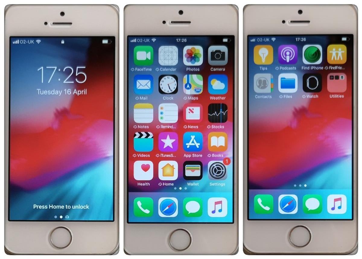 Apple iPhone 5s Smartphone (O2 & Tesco), 16GB in SP10 Test Valley