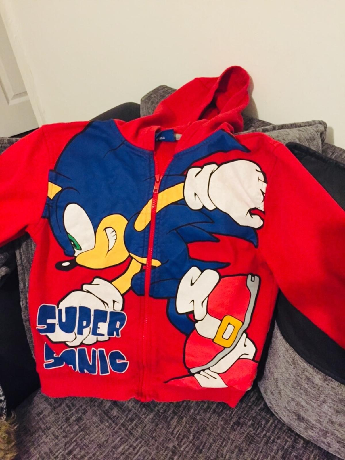 Sonic The Hedgehog Jacket In Wigan For 4 00 For Sale Shpock
