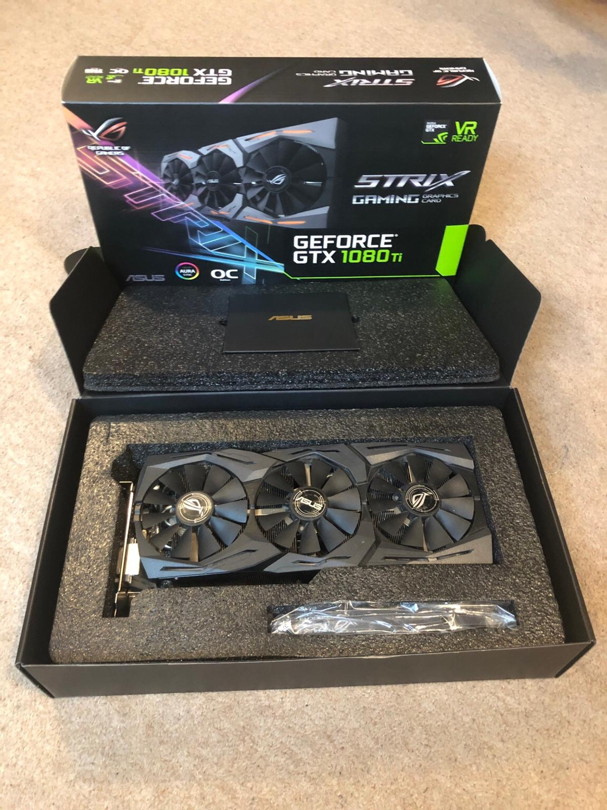 ASUS Strix OC Edition 1080ti 11GB Fully Boxed in E1 Hamlets for