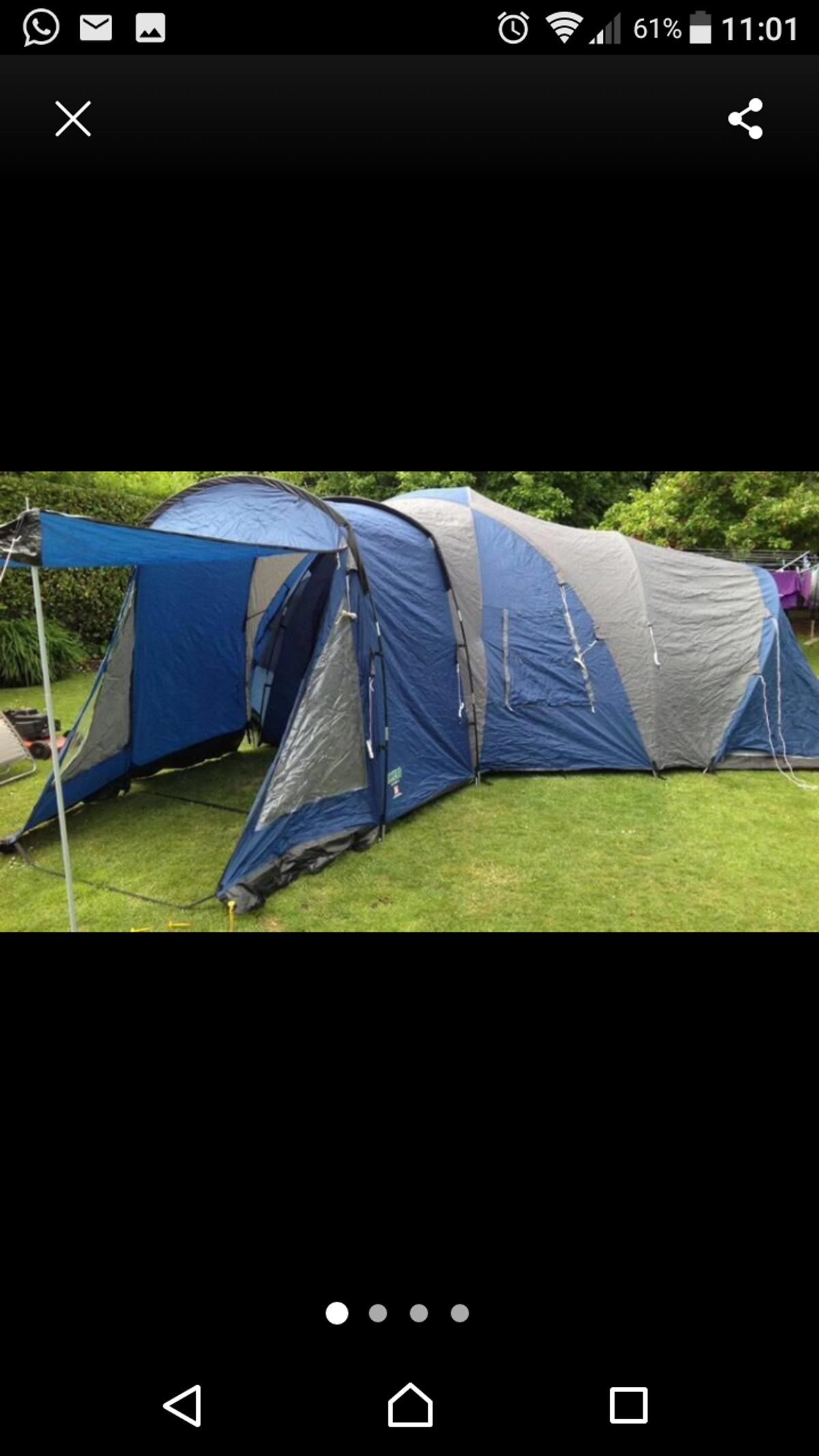 6 man tent royal sassari