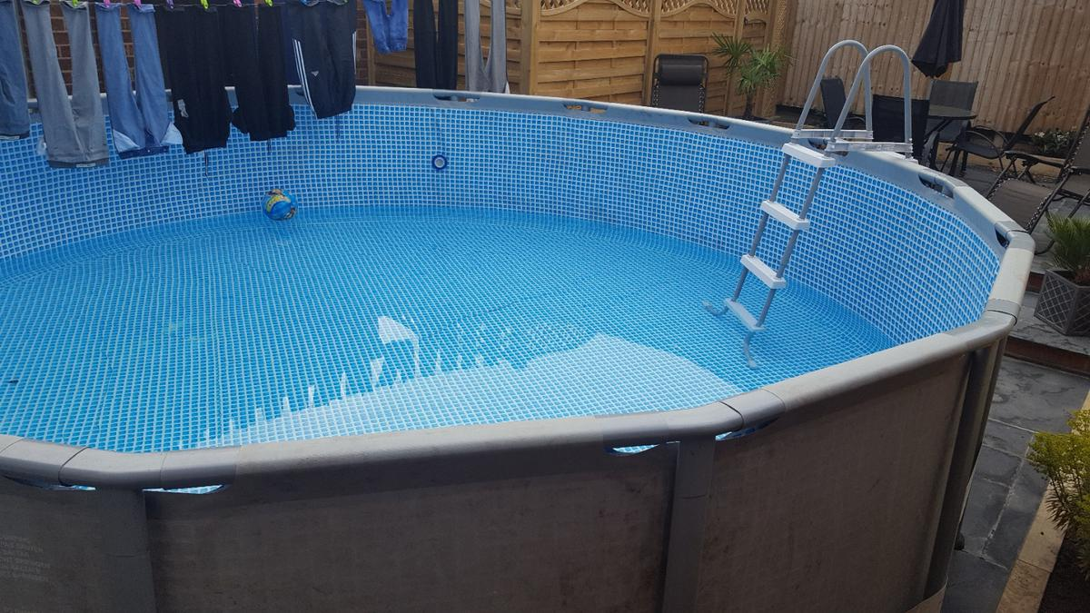16ft x 4ft intex swimming pool in Byley for £110.00 for sale ...