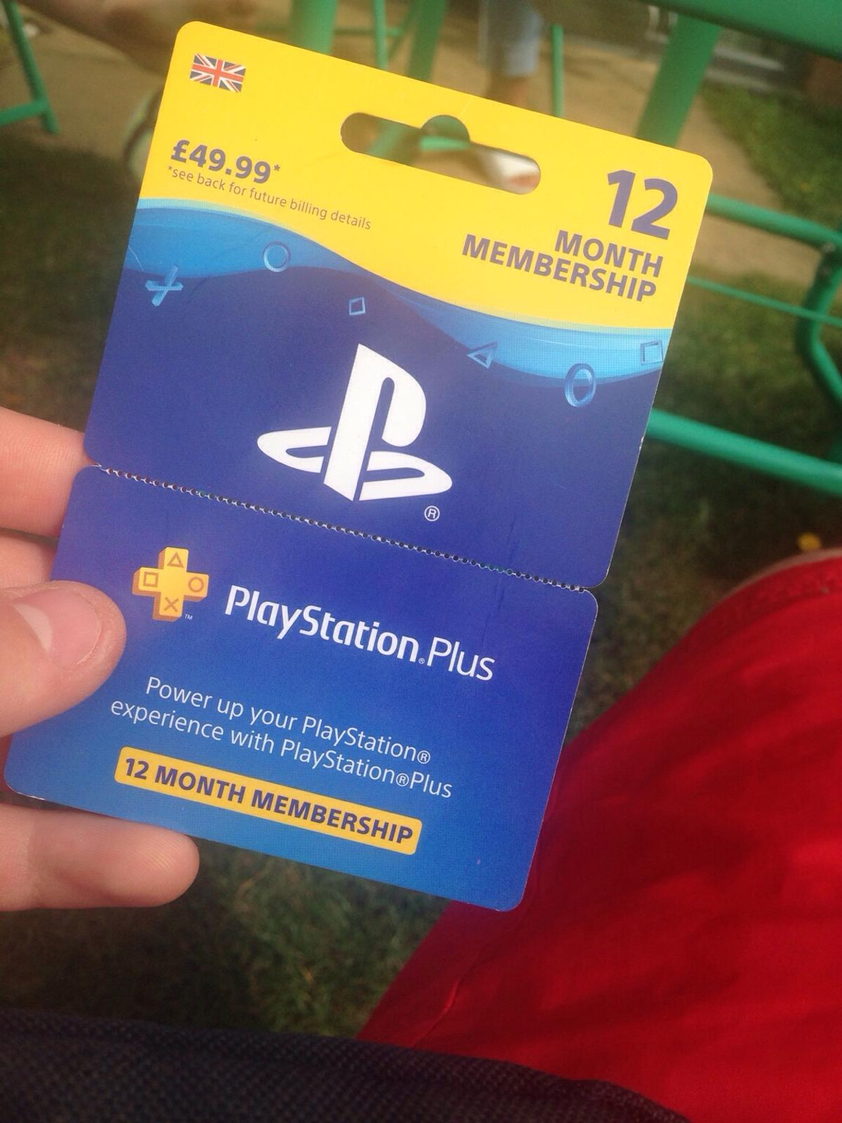 Ps4 Gift Card I Paid 50 Selling For 20 In B37 Solihull For 20 00 For Sale Shpock