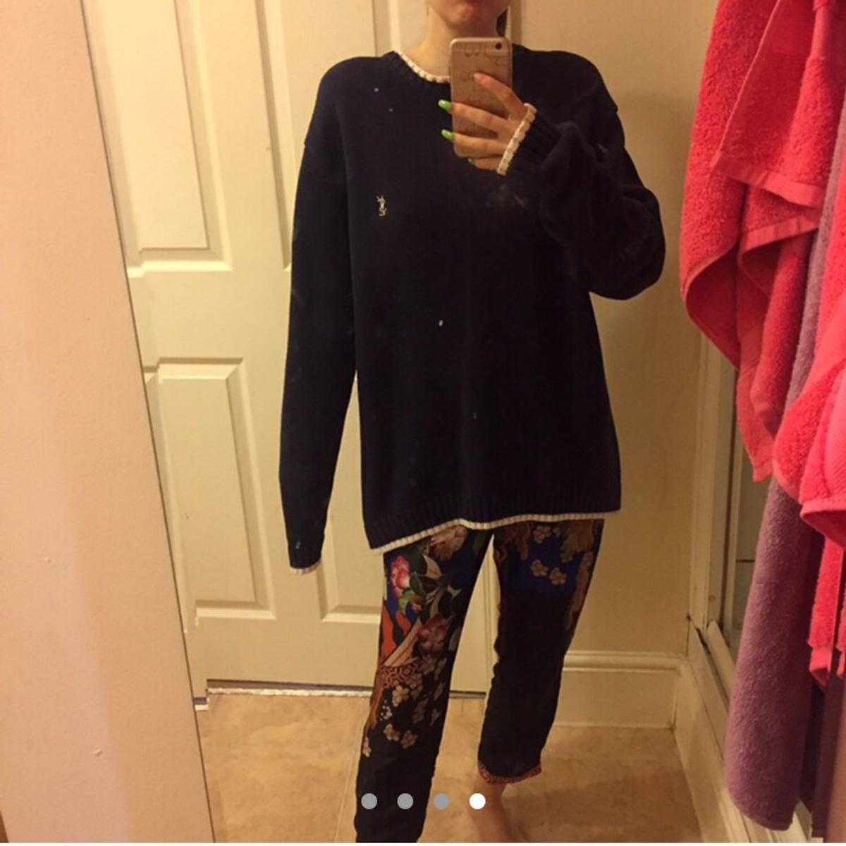 f0dc7f352 Yves Saint Laurent YSL navy jumper gucci in M1 Manchester for £30.00 for  sale - Shpock