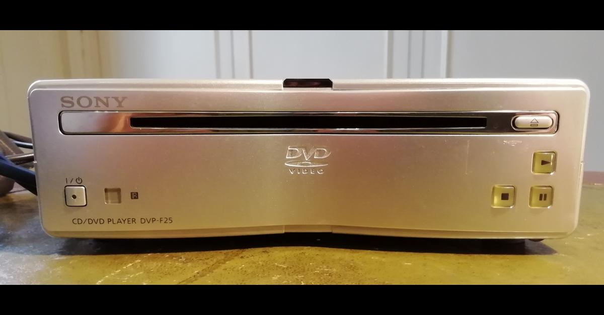 Sony CD/DVD PLAYER DVP-F25 without remote in W1H Westminster for