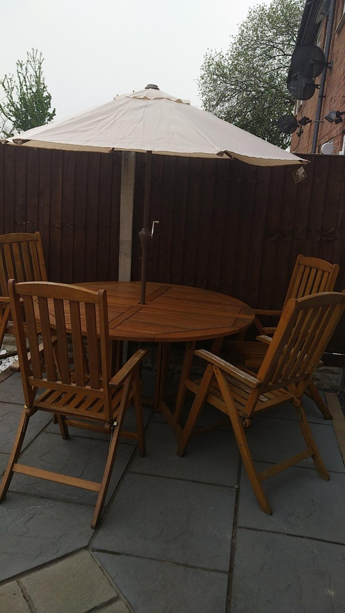 Royal Craft Patio Table Chairs Parasol