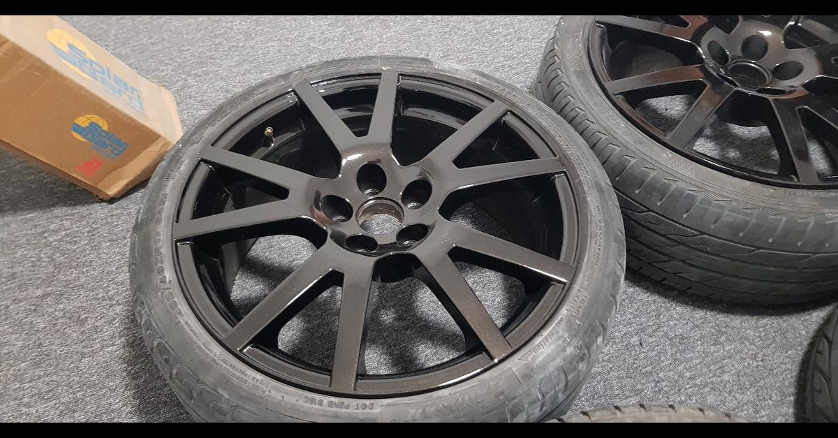 17 Skoda Vrs Spider Alloys With Tyres 5x100 In Bb9 Pendle For 250 00 For Sale Shpock