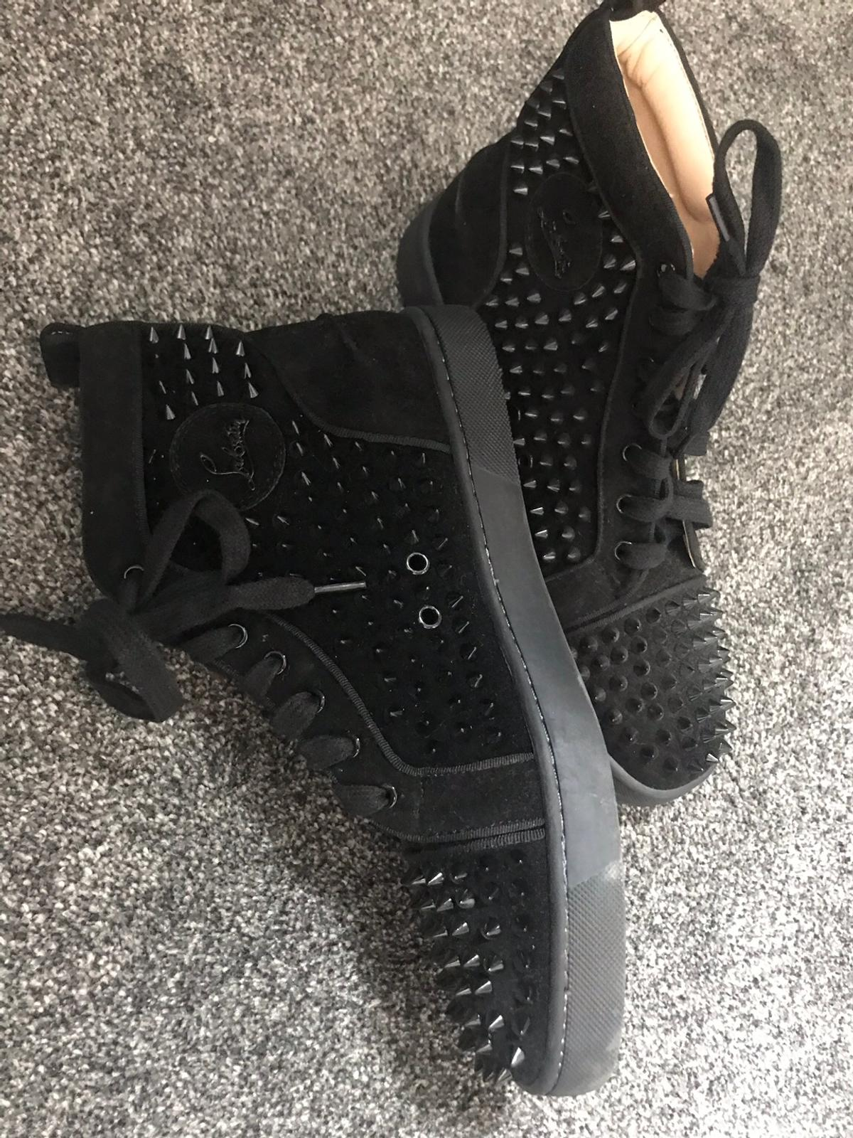 on sale 646fd a907f Christian loub inspired boot/trainers
