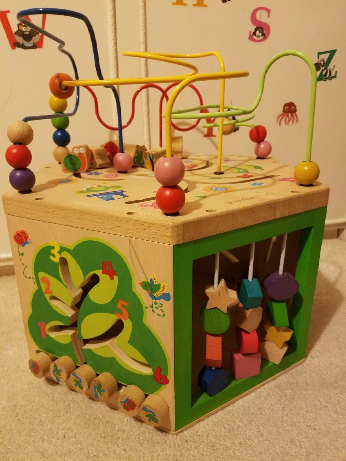 Used Everearth 7 In 1 Garden Activity Cube In Cr0 London For 2000