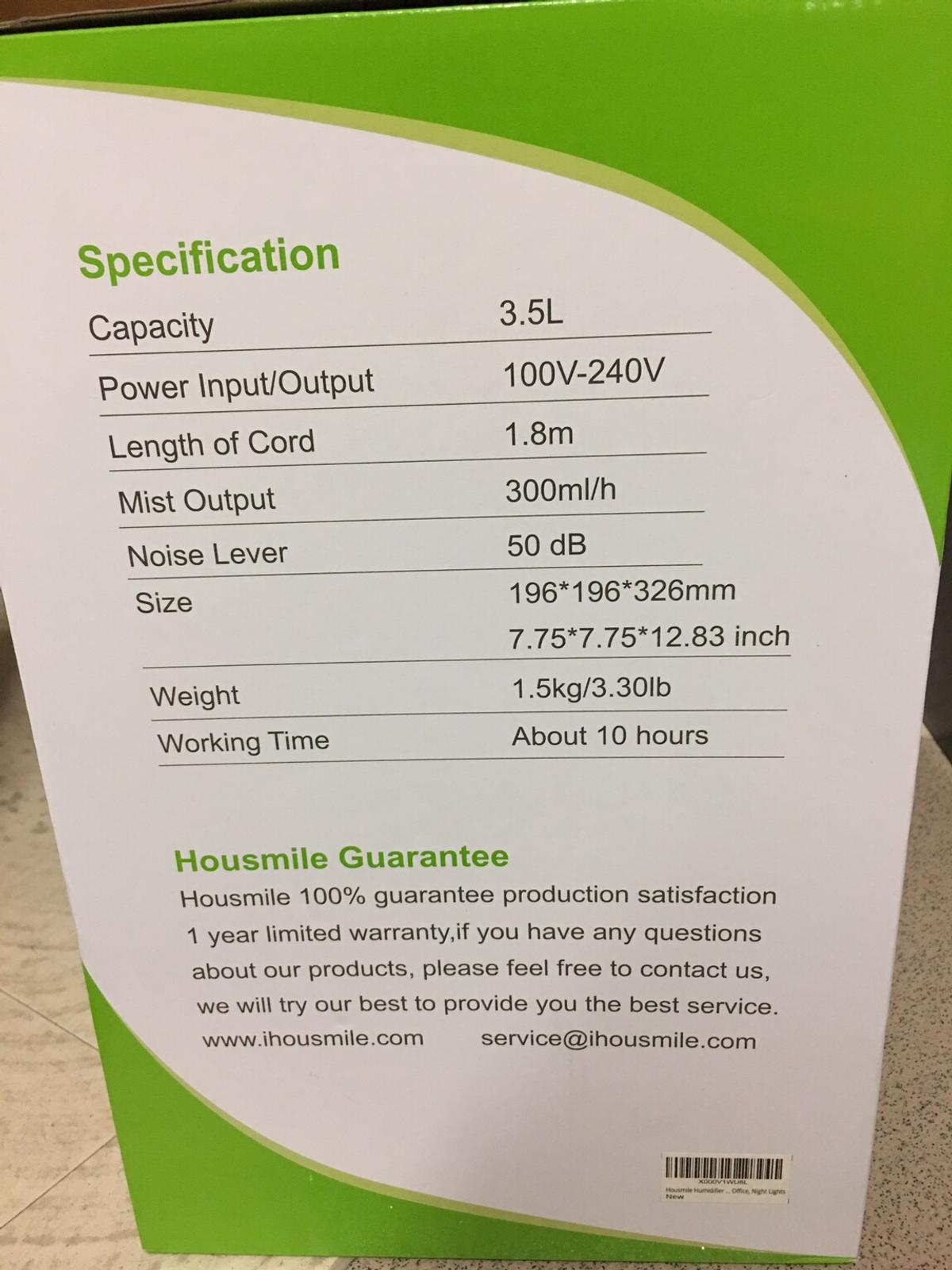 Humidifier in SE15 1NQ 伦敦 for £45.00 for sale | Shpock