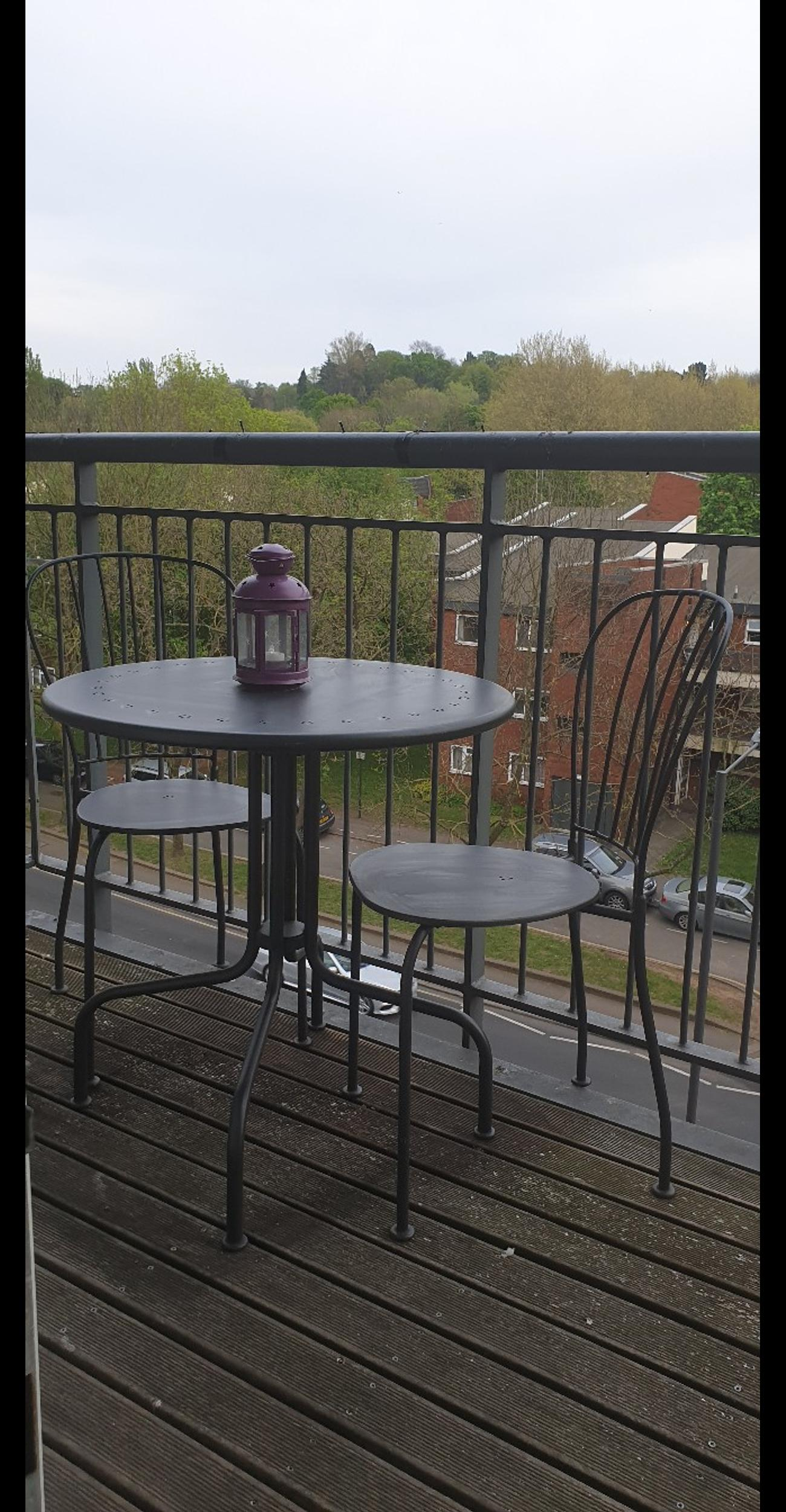 Balcony Outdoor Ikea Làckò Table And 2 Chairs