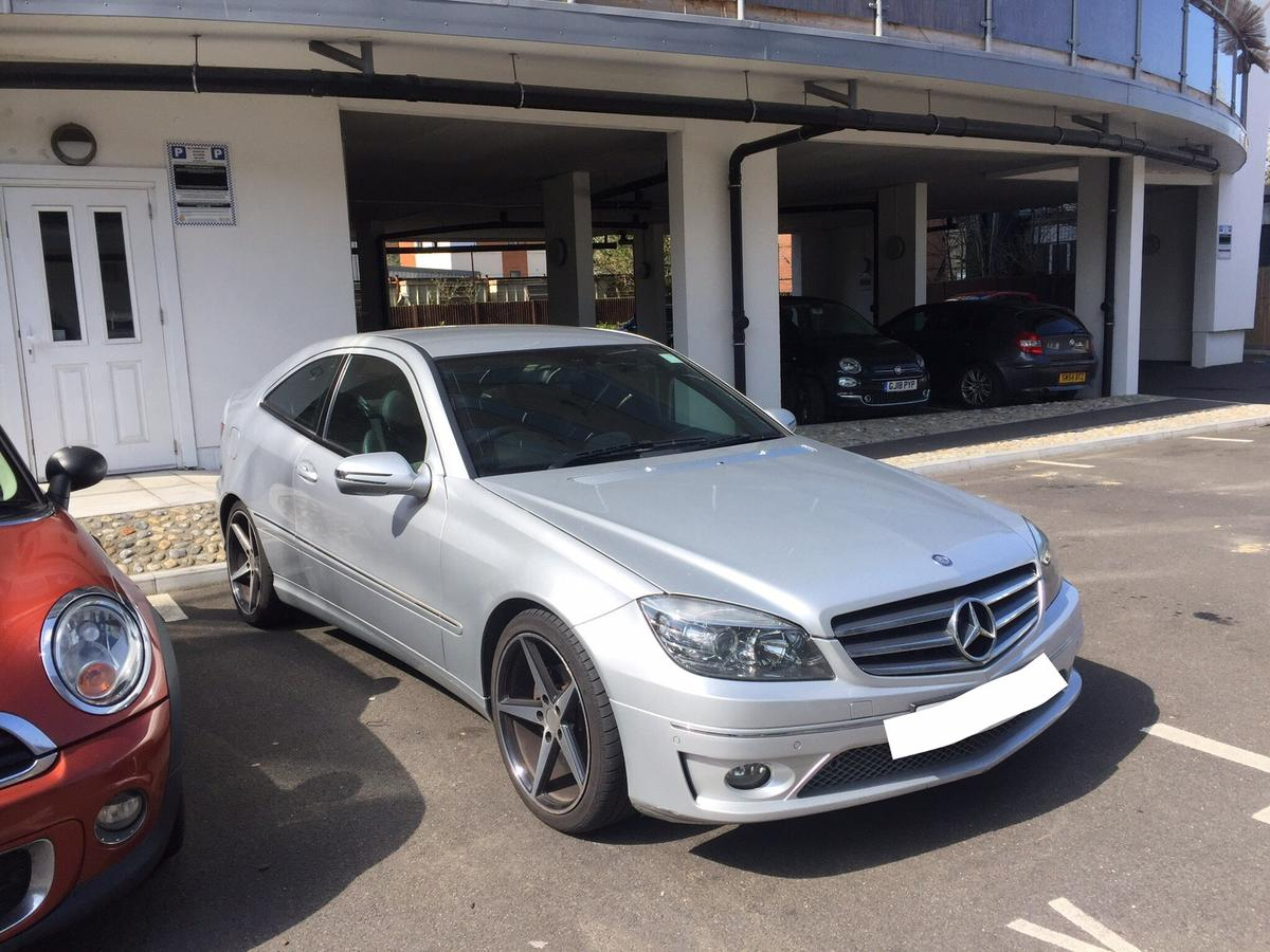 Mercedes CLC 220 cdi SPORT DIESEL BLUETOOTH in DA12 Gravesend for