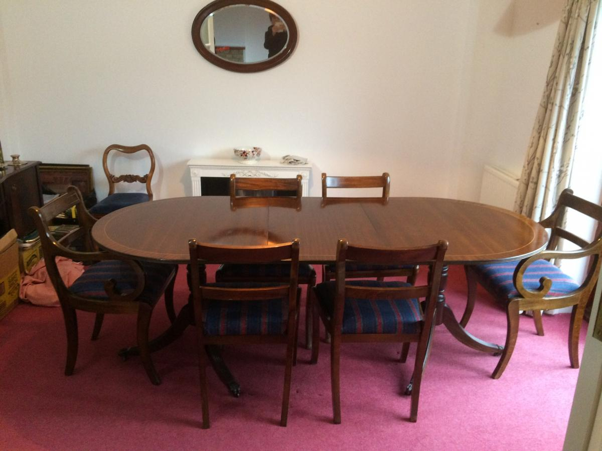 Antique Mahogany Dining Table And 6 Chairs In Somerset West And Taunton Fur 80 00 Zum Verkauf Shpock De