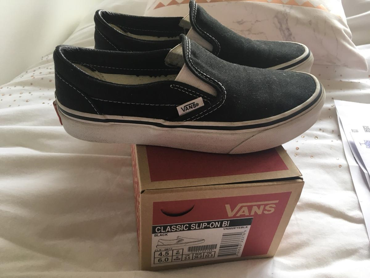 2d2d177a983d7 Original VANS UK size 3.5 in DY8 Dudley for £10.00 for sale - Shpock