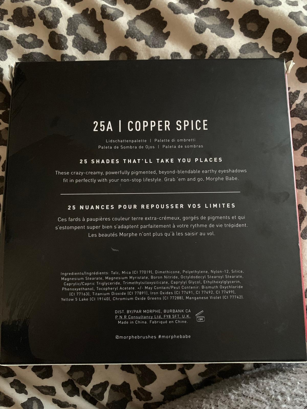 Morphe Palette (25A Copper Spice) in N16 London for £20 00