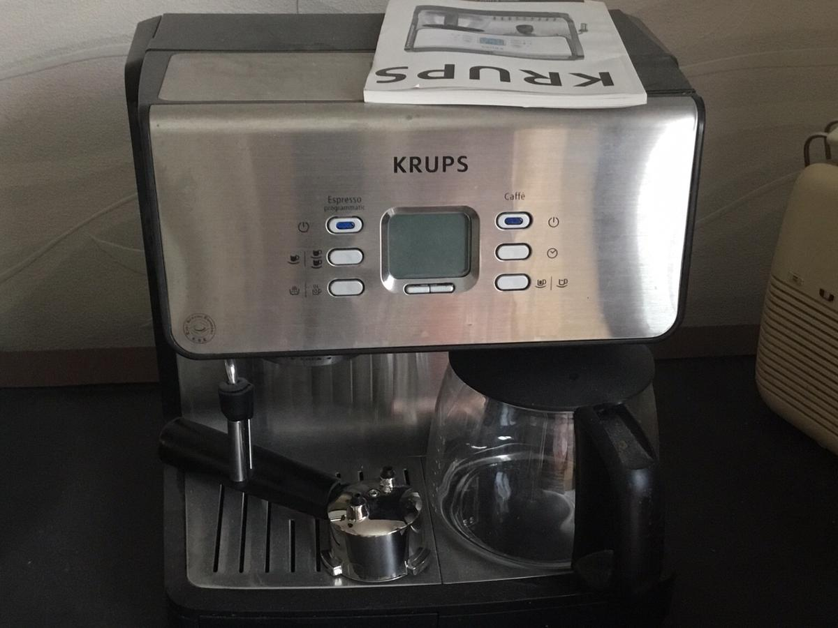 Krups Espressofilter Coffee Maker Frother