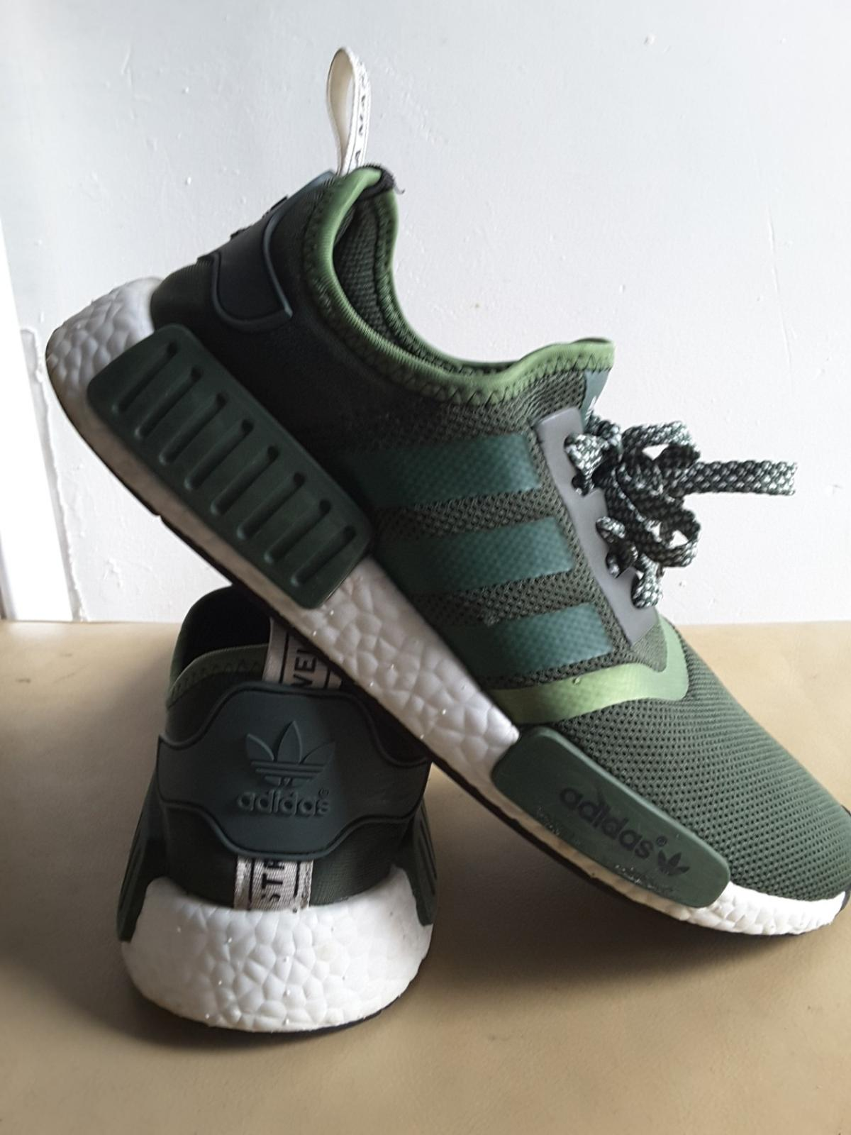 sale retailer 5e0a7 9c093 MENS ADIDAS ORIGINALS NMD GREEN TRAINERS UK 9 in SW9 London ...