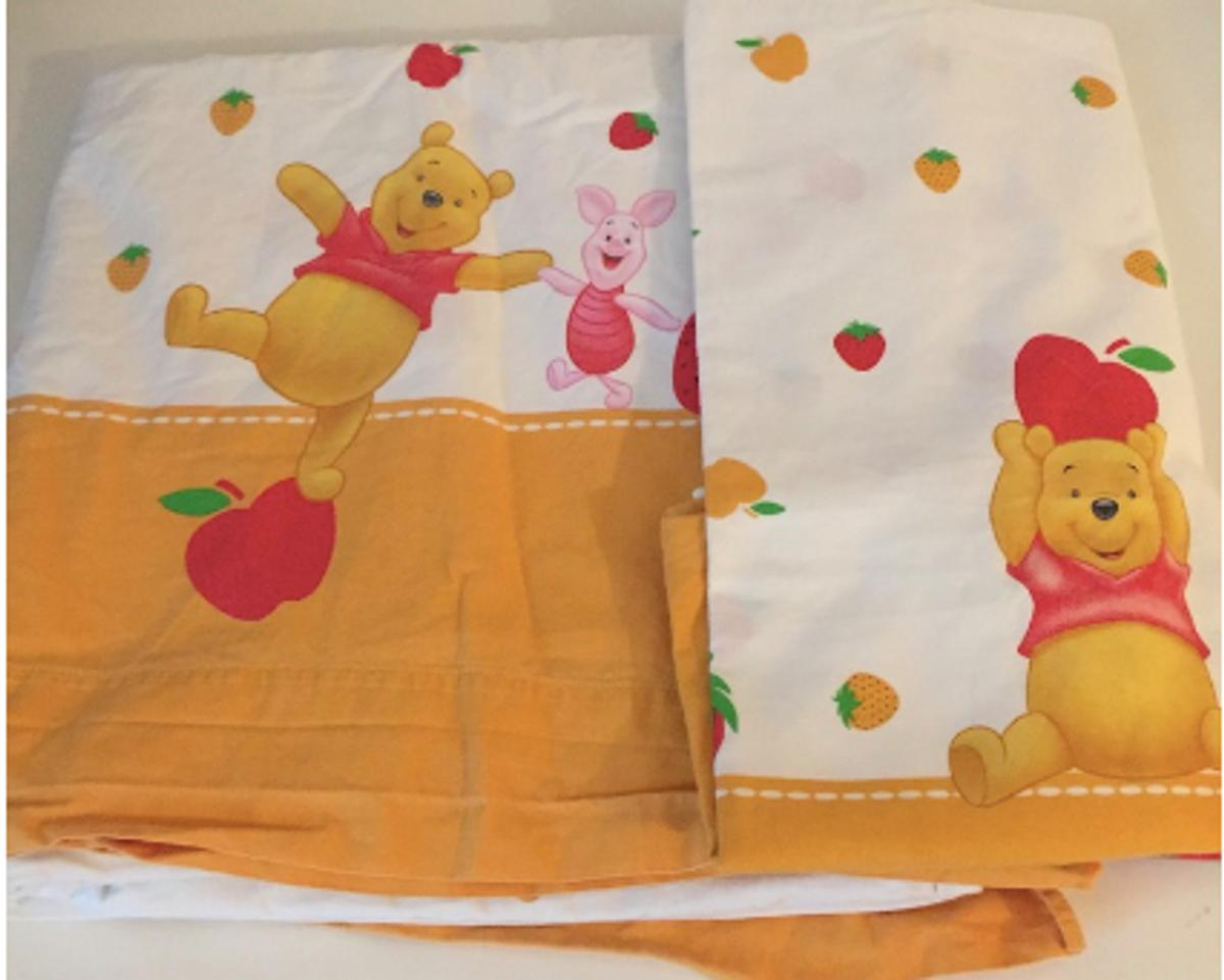 Lenzuola Lettino Winnie The Pooh.4 Completi Lenzuola Caleffi Winnie The Pooh In 20032 Cormano For