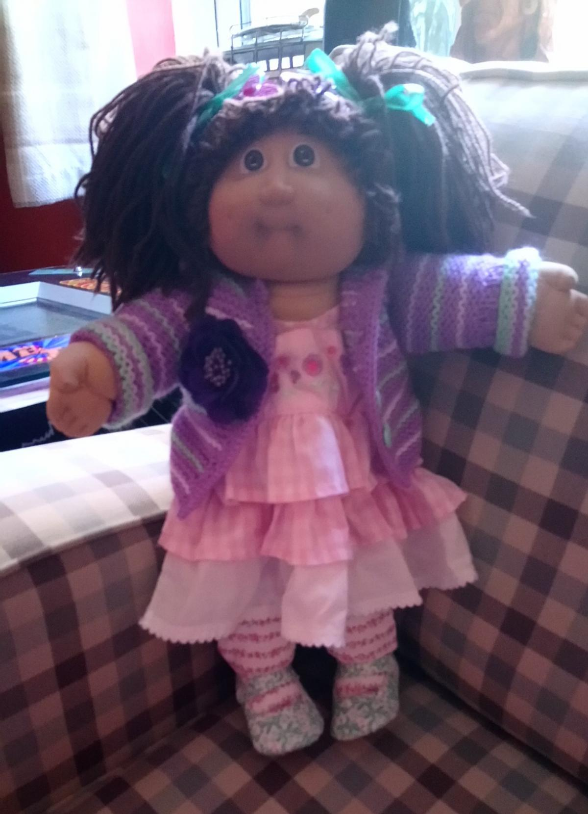 cabbage patch doll made in spain