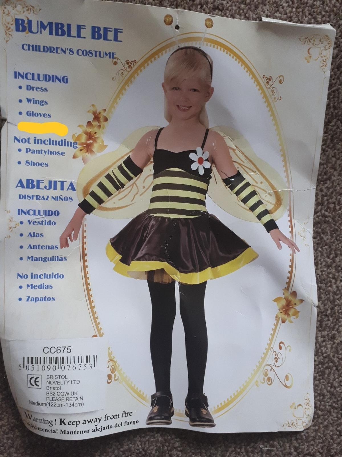 girls fancy dress items in packets   in Boston for £6 00 for
