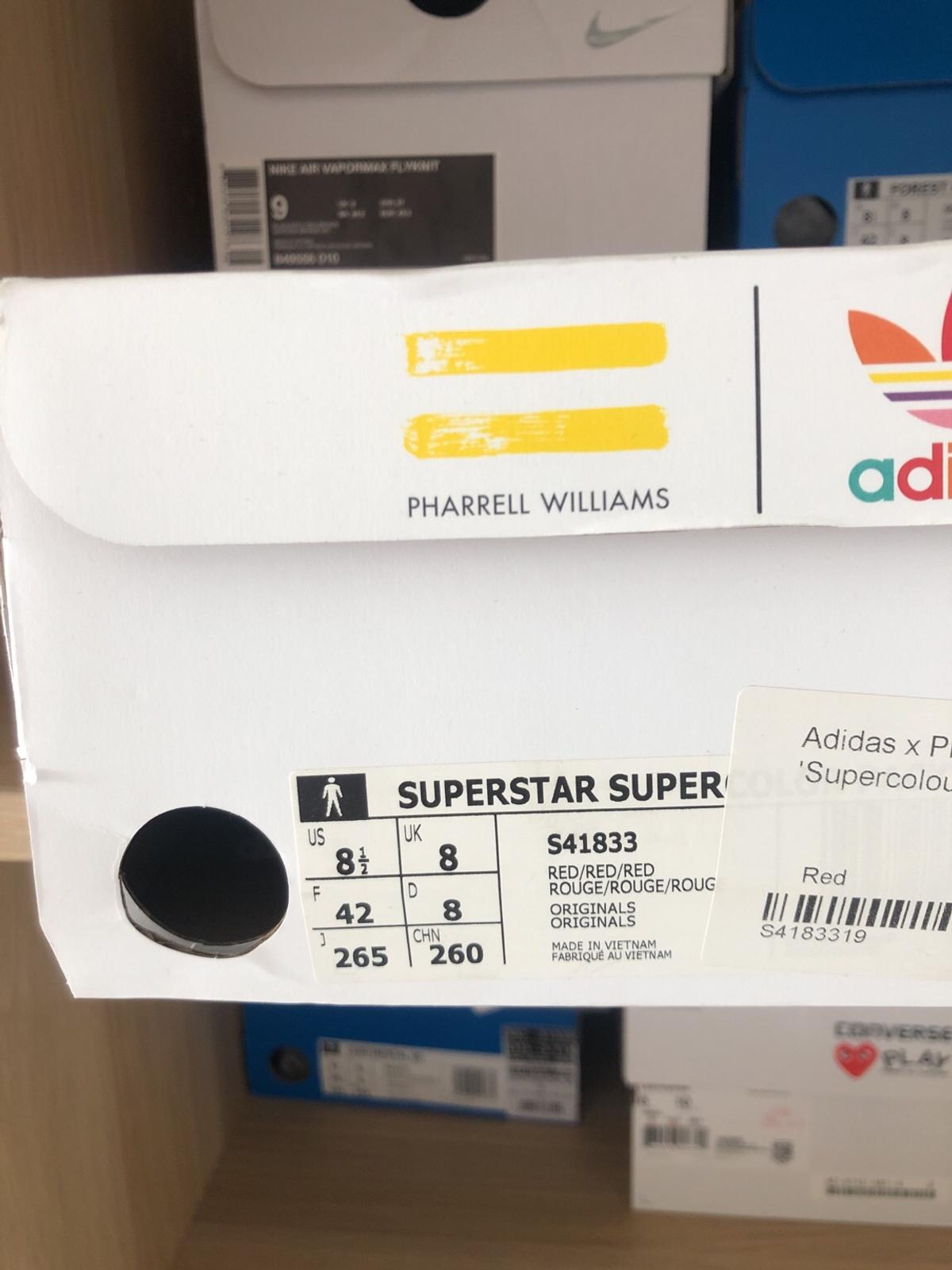 design intemporel e7f3f b172e Adidas x pharrell superstar 'super colour' re in Southend-on ...