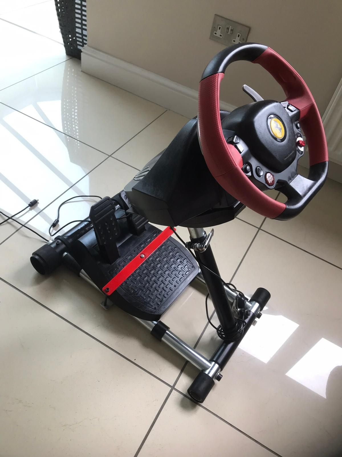 Thrustmaster Xbox One Ferrari Wheel And Stand In Northop Hall For 99 00 For Sale Shpock
