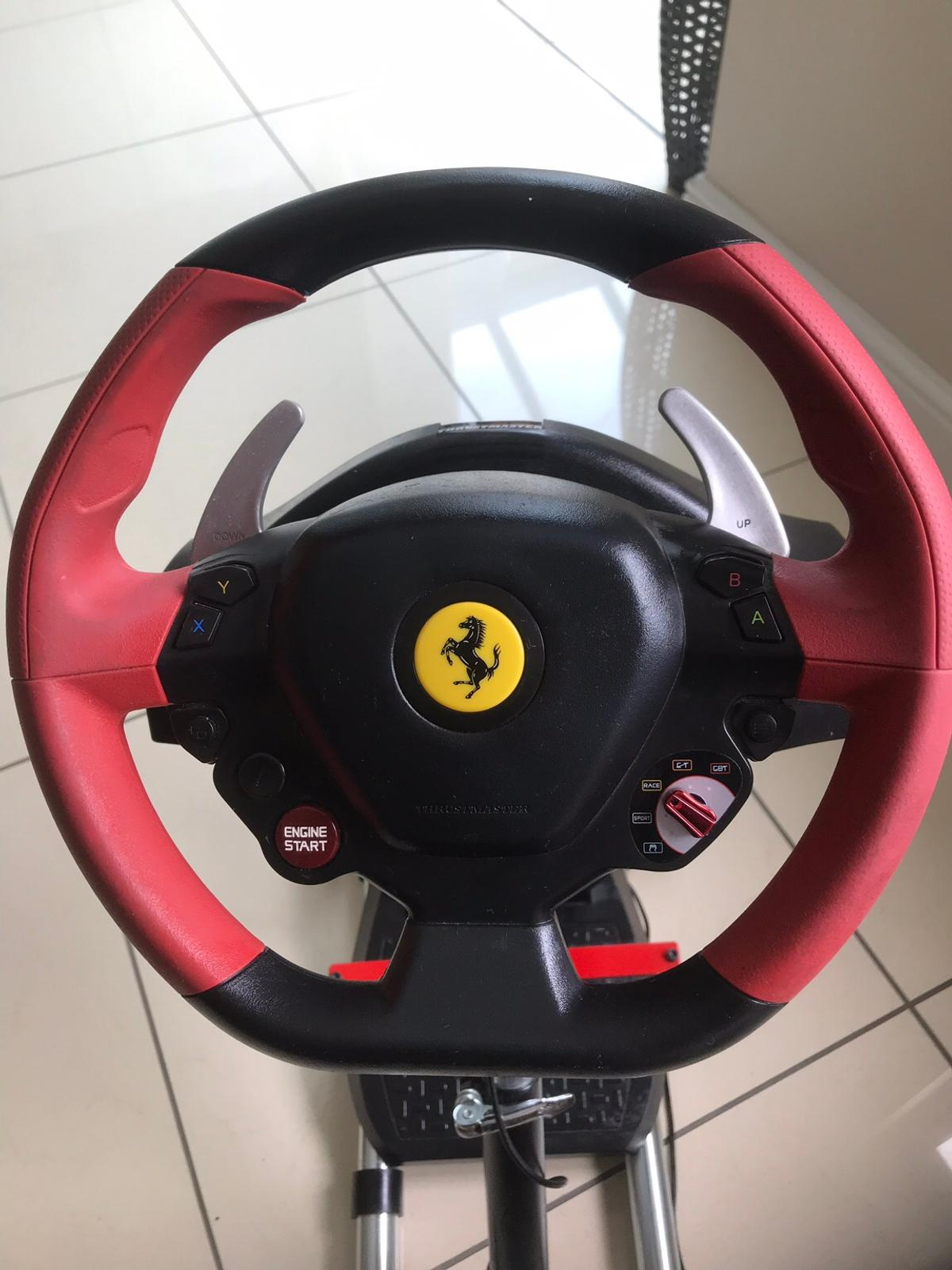 Thrustmaster Xbox One Ferrari Wheel and Stand in Northop
