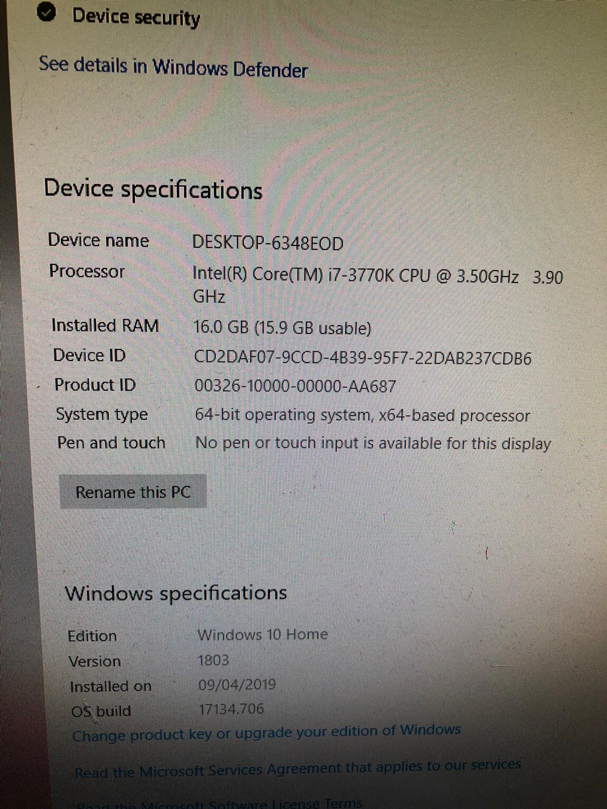 Gaming PC High Spec in EX4 Exeter for £550 00 for sale - Shpock