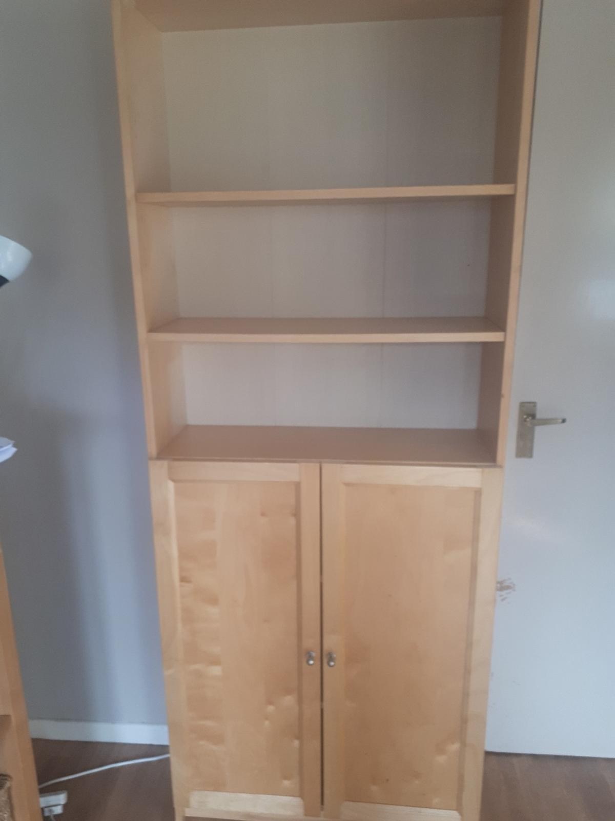 Billy Bookcase With Doors In Wolverhampton For 60 00 For