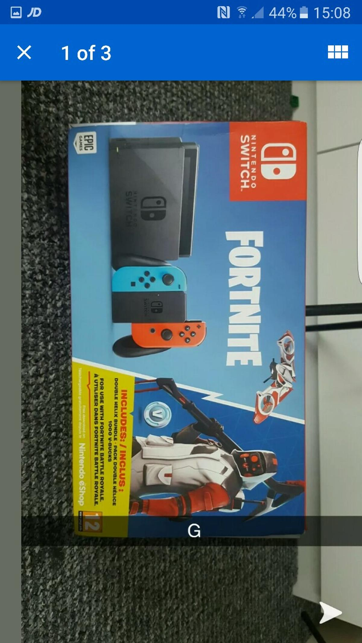 Nintendo switch fortnite bundle in Doncaster for £250 00 for